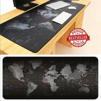 Taffware Aksesoris komputer Pc Laptop Gaming Mouse Pad Premium - Hitam, 300 x 800 mm