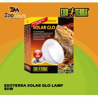 Exoterra Solar Glo Lamp 80w / Exo Terra Fiting Lampu Reptil 80 Watt