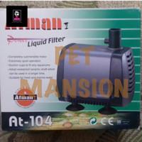 ATMAN power liquid filter AT104 aquarium AT-104 AT 104