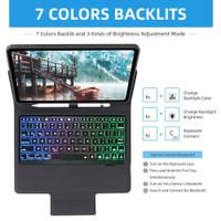 IPAD 8 10.2 Backlight Keyboard bluetooth flip case wireless Backlit
