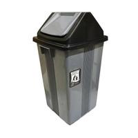Tong Sampah Besar 42 liter ABU/Tempat Sampah Besar tutup goyang
