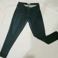 celana panjang jeans denim stretch pria wanita size 30/31 Nevada murah
