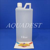 Aquadest / Aquades / Akuades Aquadest Aqua Destilata 1liter