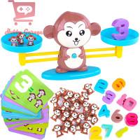 Mainan Monkey Balance Math Toy Game Edukasi Anak Belajar Timbangan