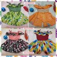 jumpsuit dress 1-2 tahun / baju anak perempuan baju anak cewek