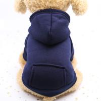 Baju Hoodie Anjing/Kucing Polos