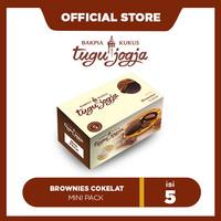 Bakpia Kukus Tugu Jogja : Brownies Cokelat Mini