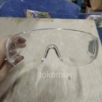 Kacamata Kerja Pelindung Mata Untuk Pengerjaan Bangunan Lensa Bening