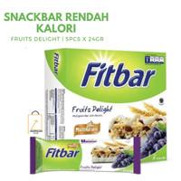 FITBAR Multigrain Fruits Delight Snack Sehat Camilan Diet 5pcs x 22gr