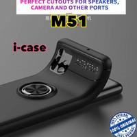 Samsung M51 Soft Case Autofocus With i-ring Original Galaxy m 51