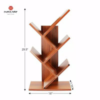 rak buku minimalis kayu