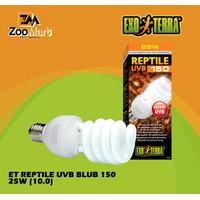 Exoterra Reptile UVB 150 25 w / Exo Terra Lampu UVB Reptil 25 Watt