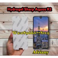 SHARP AQUOS R2 Anti Gores Hydrogel Full Screen Protector