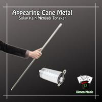 Appearing Cane Metal Besi Dimen Magic Alat Sulap Kain Tongkat Sulap