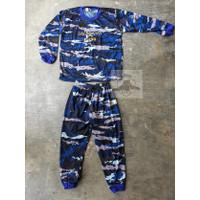 Baju Kaos Anak Loreng AURI Setelan Kao Anak TNI AU ARMY