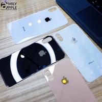 Back Door iPhone X / XS , Back Cover Kaca iPhone X / XS