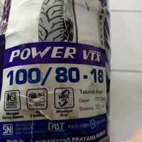 Ban Mizzle Power VTX 100/80-18 Tubetype ban luar motor