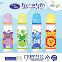 Baby Safe Botol Susu Karakter Babysafe Feeding Bottle 250 ml JS004 - Hijau
