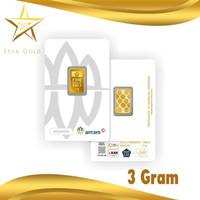 LOGAM MULIA EMAS ANTAM REINVENTED ( LM ) 3GR 3GRAM VAC PRESS CERTIEYE