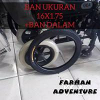 Ban Roda Belakang Kursi Roda Ukuran 16