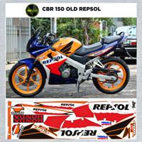 Sticker Striping Variasi Motif Ori CBR 150 Thailand REPSOL / CBR Old