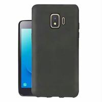 Softcase Slim Black Mate Case Anti Crack Samsung Galaxy J2 Core