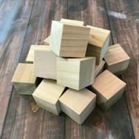 Balok kayu mini kubus jati belanda DLIMA FURNITUR