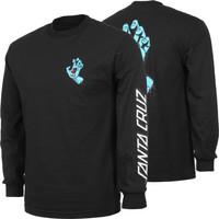 Kaos T Shirt Santa Cruz Screaming Hand Long Sleeve