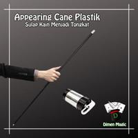 Appearing Cane Plastik Dimen Magic Alat Sulap Kain Menjadi Tongkat