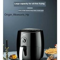 Air Fryer 5L Panci Pengorengan Pintar Tanpa Menggunakan Minyak - Ori