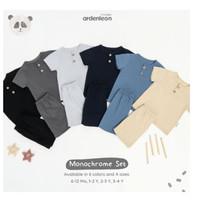 Ardenleon Monochrome Set Arden Leon Baju Anak Baju Setelan