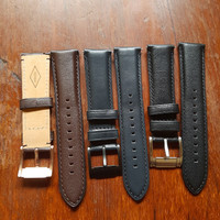tali jam tangan kulit fossil leather strap fossil - quick release 22mm