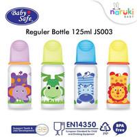 Baby Safe Botol Susu Karakter Babysafe Feeding Bottle 125 ml JS003 - Hijau