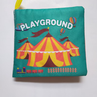 Buku Kain Bayi Softbook Baby Mainan Edukasi Buku Playground