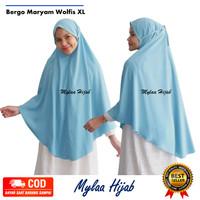 Mylaa hijab bergo maryam instan bahan wolfis premium grade A size XL
