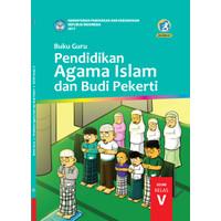 Buku guru Pendidikan Agama Islam dan Budi Pekerti Kelas 5 SD-MI
