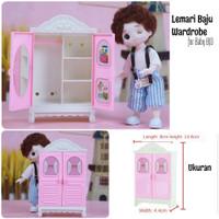 Lemari Baju boneka Baby Yuna BJD