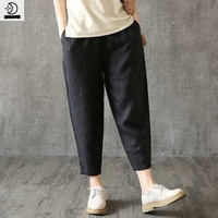 Celana Panjang Santai Baggy Jogger Vintage Slim Oversized xxl Jumbo