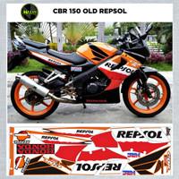 Sticker Striping Variasi Motif Ori CBR 150 Thailand REPSOL / CBR Old 1