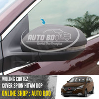 Cover Spion Wuling Cortez Hitam Dop