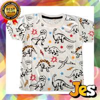 Baju atasan anak laki-laki / Kaos anak laki-laki Dino Cool 1-10 Tahun