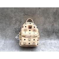 MCM bebeboo mini backpack beige