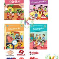 Buku Tematik Kelas 1 Sd Paket 4 Buku Semester 1
