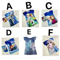 Baju Frozen / Dress Baju Frozen / Pakaian Frozen