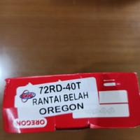 Rantai Chainsaw Senso 72x40 Oregon Asli Belah untuk Bar 24 inch