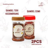 Sambal Cumi + Sambal Teri Kecombrang Galada Paket 2pcs