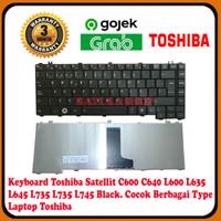 Keyboard Laptop Toshiba C600 C640 L600 L635 L645 L730 L735 L745 B40
