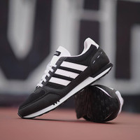 Sepatu Running Pria Adidas Neo City Racer Black White ORIGINAL BNWB