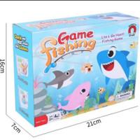 Mainan anak pancing ikan - bath toys fishing baby shark - fishing toys