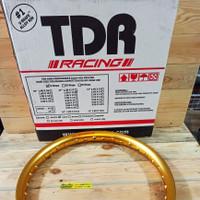 Velg TDR Ring 17 140 U Shape Ushape Gold Setengah Lingkaran
